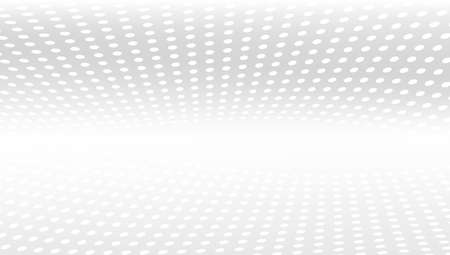 3D White And Grey Abstract Perspective Background    Vector 向量圖像