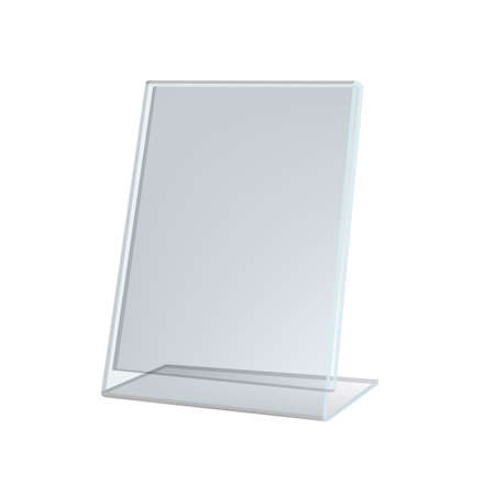 3D Transparent Acrylic Stand For A4 Paper Page