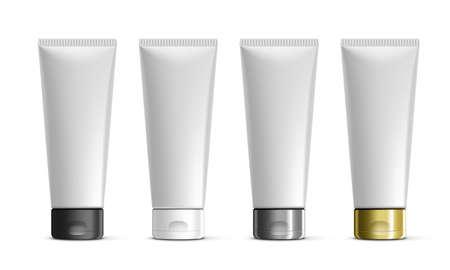 Cosmetic Tube For Cream, Gel, Liquid, Foam
