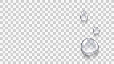 Transparent Clear Micellar Water Or Essence Drops