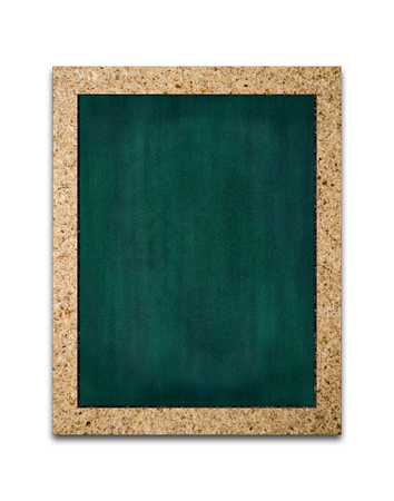 Vertical Chalkboard, Isolated on white background, Memo board or menu and message board stand, Template mock up for adding your design and adding more text. (Clipping path included)