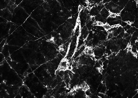 Black Marble pattern with white veins useful as background or texture, Detailed real genuine marble from nature, Can be used for creating a marble surface effect to your designs or images.