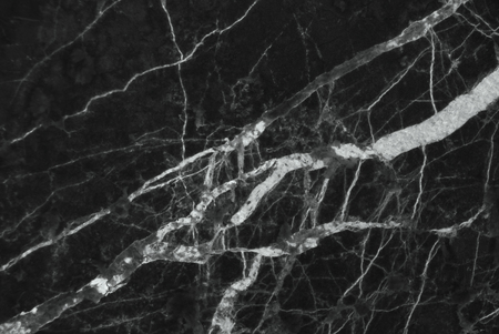 Black And Dark Marble Texture Pattern For Backdrop Or Background