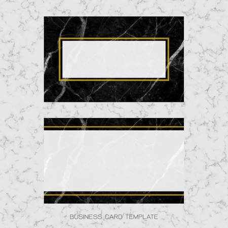 Modern business card layout template black and golden marble modern business card layout template black and golden marble background for luxury design clipping flashek Image collections