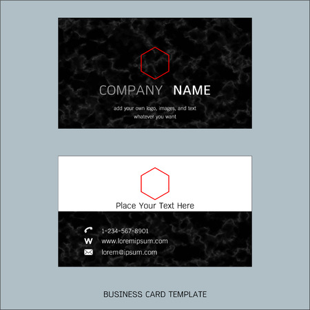 Modern designer business card layout templates marble texture modern designer business card layout templates marble texture background easy to use by print flashek Gallery