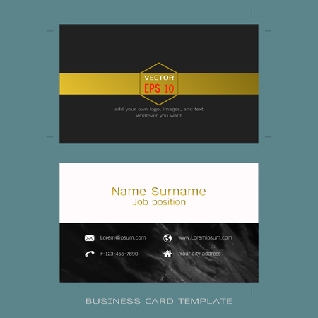 Modern designer business card layout templates marble texture modern designer business card layout templates marble texture background easy to use by print fbccfo Gallery