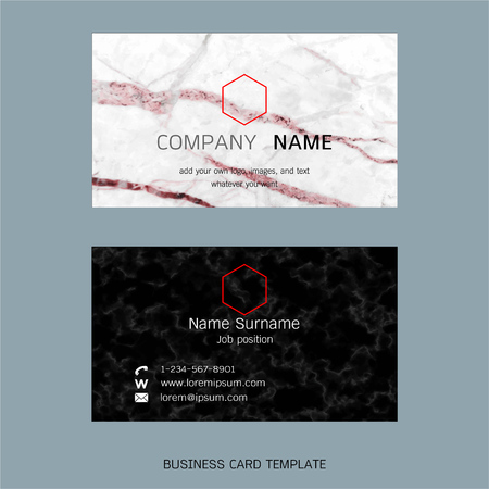 Modern designer business card layout templates marble texture modern designer business card layout templates marble texture background easy to use by print reheart Gallery