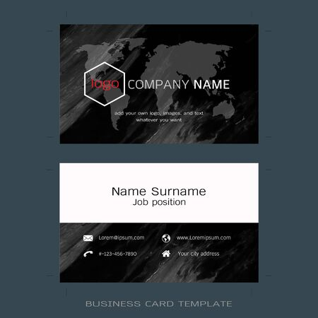Modern designer business card layout templates marble texture modern designer business card layout templates marble texture background easy to use by print reheart Images