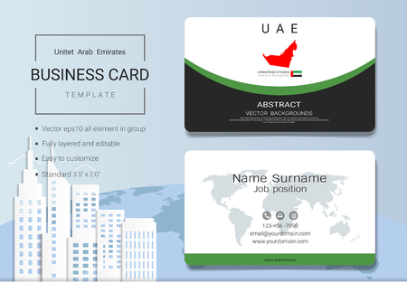 Commemoration day of the united arab emirates martyrs day 30 96103199 uae abstract business card or name card template emirates banner for independence day and other events vector illustration stopboris Choice Image