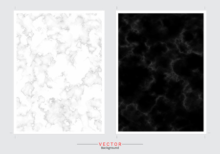 Marble Imitation cover background vector set, Modern and luxury design template.