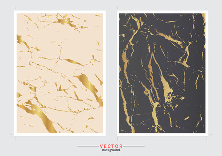 Marble with golden texture background, Modern and luxury for your design cards, wedding or invitation, web banner, cover template, pattern and wallpaper (Vector EPS10, Fully editable color change)