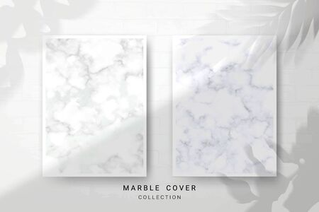 Marble Texture, Cover Premium Set of Vector Patterns Collection, Abstract Background Template, Suitable for Wedding and Greeting Invitation Card Imagens - 127649873