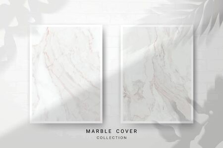 Marble Texture, Cover Premium Set of Vector Patterns Collection, Abstract Background Template, Suitable for Wedding and Greeting Invitation Card Imagens - 127649932