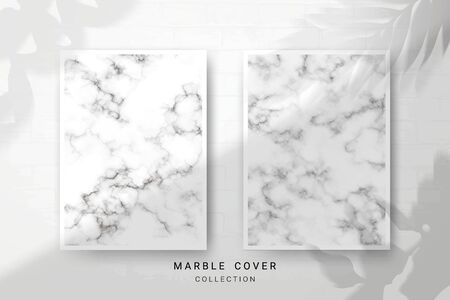 Marble Texture, Cover Premium Set of Vector Patterns Collection, Abstract Background Template, Suitable for Wedding and Greeting Invitation Card Imagens - 127649938