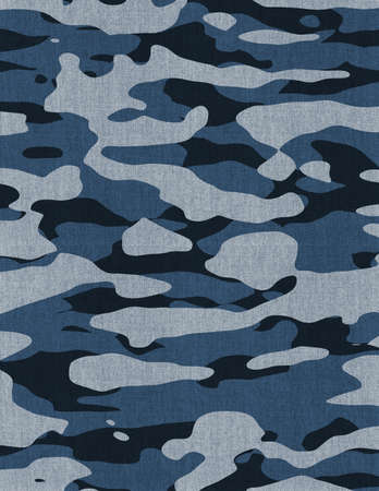 Pixelated Military Camouflage Print Template. 写真素材