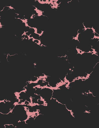 Rose gold black marble and glitter texture backgrounds. 写真素材
