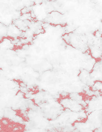 Rose gold white marble and glitter texture backgrounds.