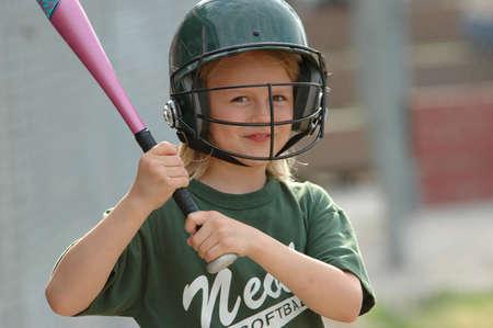 softbol: Young bateador en la cubierta