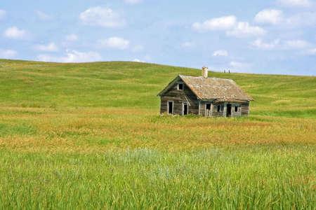 Old House on the Minnesota Prairie