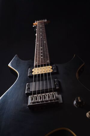 stillife: Electric guitar stillife Stock Photo