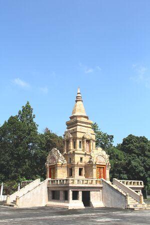 thai sanctuary  at wat tham pha pu  temple loei,thailand Editorial