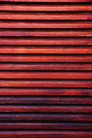 the lath wood texture with red painted