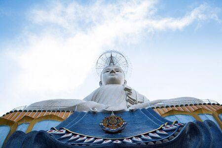 The white buddha statue in Ratchaburi province ,Thailand Stock Photo - 13714482
