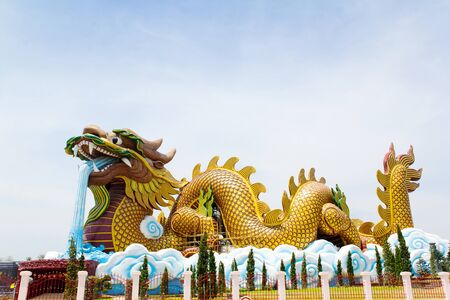 big dragon is symbolism and China style Stock Photo - 13712441