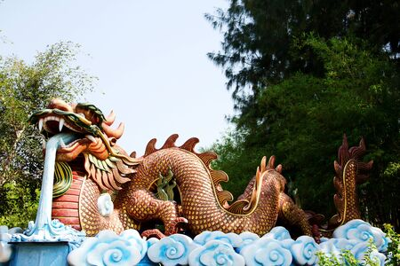 big dragon is symbolism and China style Stock Photo - 13712575