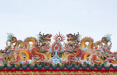 the dragon is symbolism and Chinese style Stock Photo - 13809258