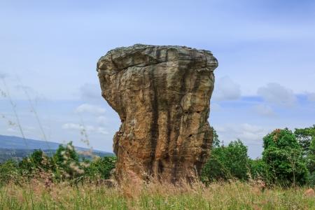 Detail of Monolithic -chaiyaphum province,Thailand Stock Photo