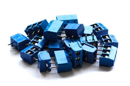 jacks connector isolated on white background Stock Photo - 21685799