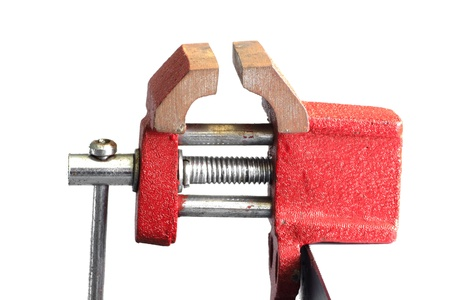 small vise for working on small and light elements photo