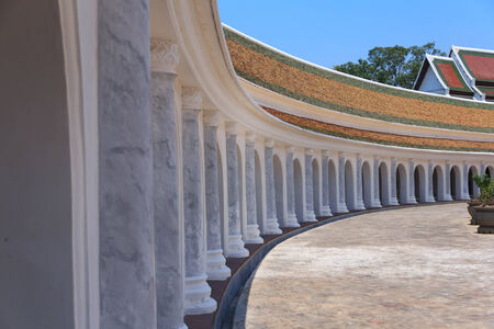nakhon pathom: Architecture of the Temple in Phra Pathom Chedi ,Nakhon Pathom Province