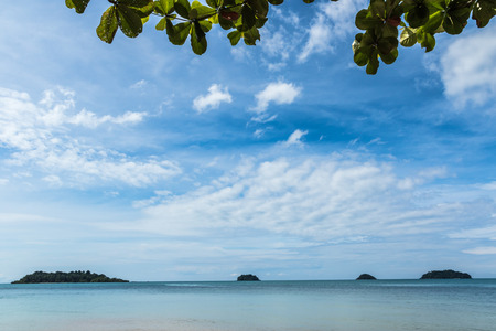 View point of Koh Chang Island, Trad province, Thailand.