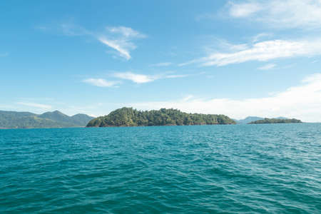 trad: View point of Koh Chang Island, Trad province, Thailand.