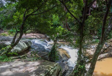 Beautiful Waterfall in Phu Suan Sai National Park ,Loei province Thailand