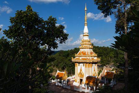 phu-kwi-ngen temple amphoe  chiang-khan Loei,Thailand 写真素材
