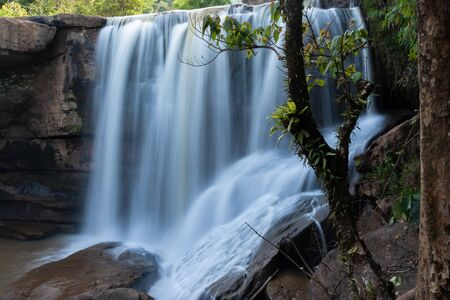 Song-Khon-Waterfall in Loei Province ,Thailand 写真素材