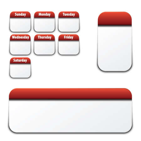 assign: Red daily theme