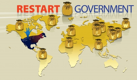windfall: Graphic for Present Government Shut-Down event