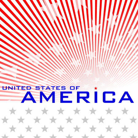 national day: Graphic for present National Day of USA