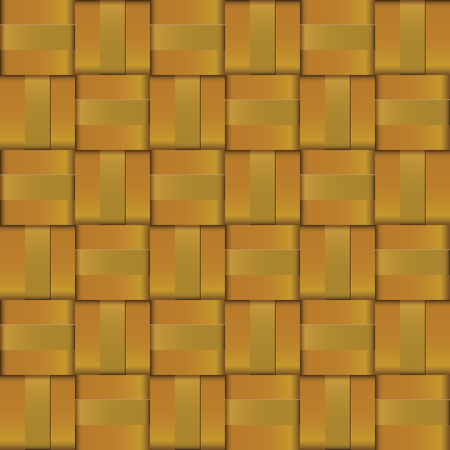 webbed: Design pattern gold metal weave for background texture.