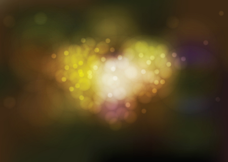 dazzling: Love is made of many lights, many color and many sizes as well as a heart. This vector file is sprit layers of bokeh and background.
