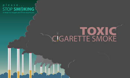 Smoke from cigarettes is no different from factory smoke. Which is destroying the environment. It also destroys the health of the smoker and those around him.