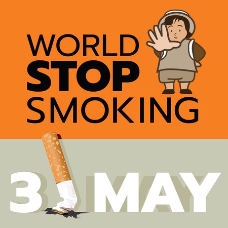 Every year in May, 31 is world stop smoking day.