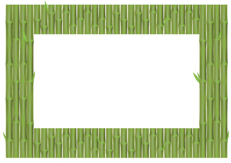 Bamboo panel backdrop for background design, and blank space for picture or text.