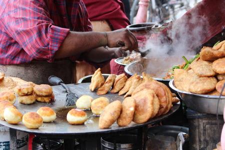Delicious street food in Jaipur, India