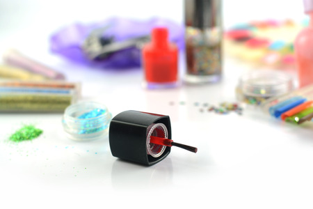 Glitter for nail polish photo