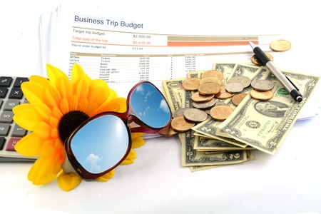 business trip budget report